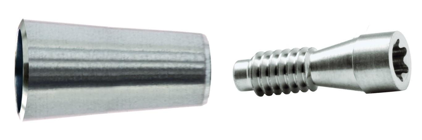 TL RP Titankappe, für Brücke/Steg inkl. Schraube 57048